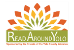 Read Around Yolo book club bags. Sponsored by the Friends of the Yolo County Libraries.