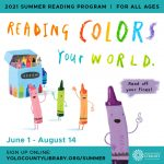 2021 Summer Reading Program : Reading Colors Your World